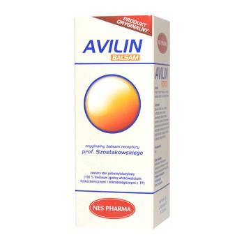 Avilin, oryginalny balsam receptury prof. Szostakowskiego, płyn, 50 ml