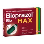 Bioprazol Bio Max, 20 mg, kapsułki dojelitowe twarde, 14 szt.
