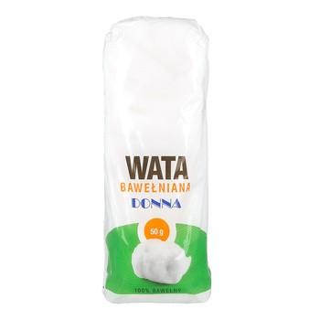 Wata bawełniana 100%, 50 g, 1 szt. (Paso)