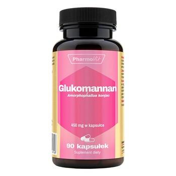 Pharmovit Glukomannan, kapsułki, 90 szt.