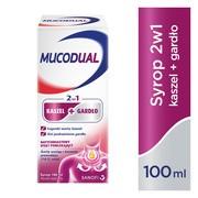 Mucodual 2w1 kaszel + gardło, syrop, 100 ml