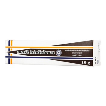 Maść ichtiolowa, 10 g (L.G.Olsztyn)