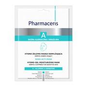 Pharmaceris A Sensi-Acti, hydro-żelowa maska nawilżająca, 1szt.