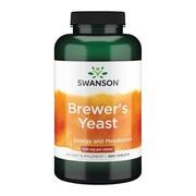 Swanson Brewer's yeast, 500 mg, tabletki, 500 szt.