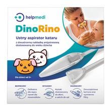 DinoRino, aspirator ustny kataru, HelpMedi, 1 szt.