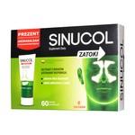 Sinucol Zatoki, tabletki powlekane, 60 szt + Sinucol Aromabalsam GRATIS