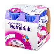 Nutridrink, smak owoców leśnych, płyn, 4 x 125 ml
