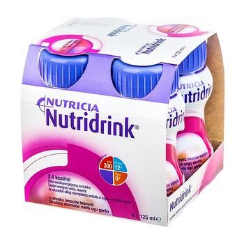 Zestaw 6x Nutridrink, smak owoców leśnych, płyn, 4 x 125 ml