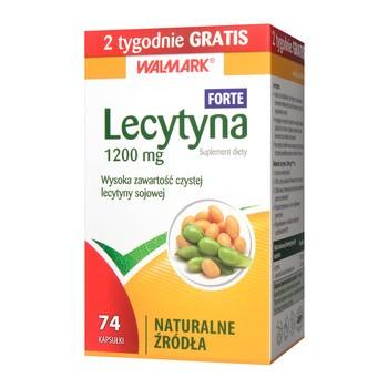 Lecytyna 1200 mg Forte, kapsułki, 74 szt. (Walmark)