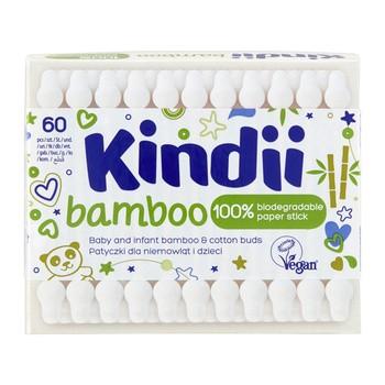 Kindii Bamboo, patyczki dla dzieci, 60 szt.