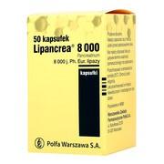Lipancrea, 8000 j. lipazy, kapsułki, 50 szt.