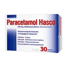 Paracetamol  Hasco, 500 mg, tabletki powlekane, 30 szt.