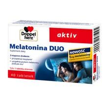 Doppelherz aktiv Melatonina DUO, tabletki, 40 szt.
