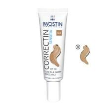 Iwostin Correctin Sensitia, fluid dla skóry wrażliwej, SPF 30, odcień 03, 30 ml