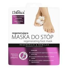 L`Biotica, regenerująca maska do stóp w postaci nasączonych skarpetek, 32 ml