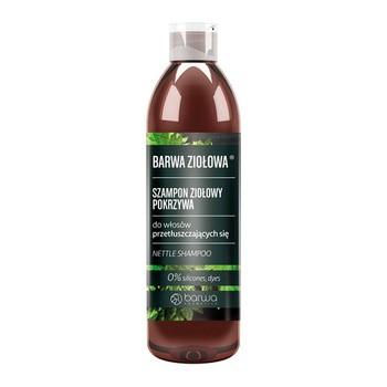 Barwa Ziołowa, szampon pokrzywowy do włosów przetłuszczających się, 250 ml
