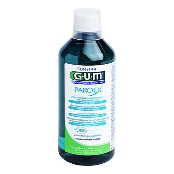 Gum Paroex 0.06% CHX, płyn do płukania jamy ustnej, 500 ml