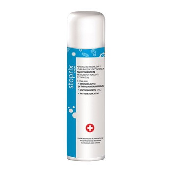 Stoprix, aerozol do dezynfekcji rąk i powierzchni,150 ml
