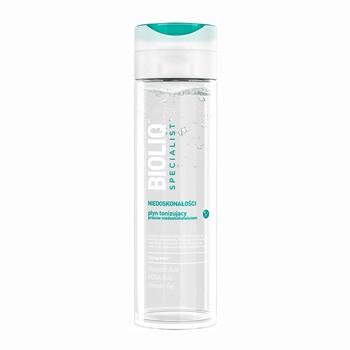 Bioliq Specialist Niedoskonałości, płyn tonizujący przeciw niedoskonałościom, 200 ml