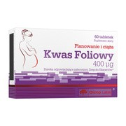 Olimp Kwas foliowy, 400 µg, tabletki, 60 szt.