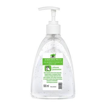 Alko-żel Plus, żel do dezynfekcji skóry rąk, 500 ml
