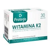 Protego Witamina K2, kapsułki elastyczne, 30 szt.