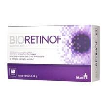 Bioretinof, tabletki powlekane, 60 szt.
