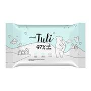 Luba Tuli, nawilżane chusteczki dla dzieci 97% woda i aloes, 60 szt.