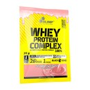 Olimp Whey Protein Complex 100%, proszel, smak truskawkowy, 35 g