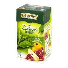 Herbata zielona z pigwą i granatem, 1,7 g, 20 szt. (Big-Active)