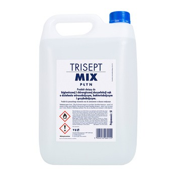 Trisept Mix, płyn do dezynfekcji, 5 l