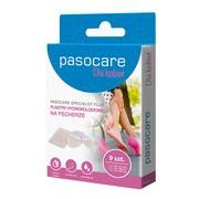 Pasocare Specialist Plus, plastry hydrokoloidowe na pęcherze, zestaw, 9 szt.