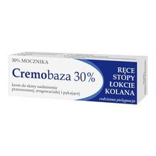 Cremobaza 30%, krem zmiękczająco-nawilżający z mocznikiem, 30 g