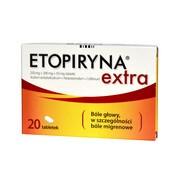 Etopiryna Extra, tabletki, 20 szt.