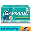 Gaviscon o smaku mięty TAB, tabletki do rozgryzania, żucia, 48 szt.