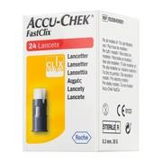 Accu-Chek FastClix, lancety, 24 szt.