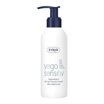 Ziaja Yego Sensitiv, łagodzący żel do mycia twarzy dla mężczyzn, 200 ml