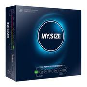 MY.SIZE, prezerwatywy, rozmiar 47 mm, 36 szt.