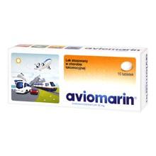 Aviomarin, 50 mg, tabletki, 10 szt.