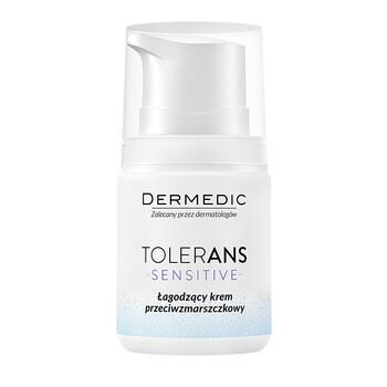 Dermedic Tolerans Sensitive, łagodzący krem przeciwzmarszczkowy, 55 g
