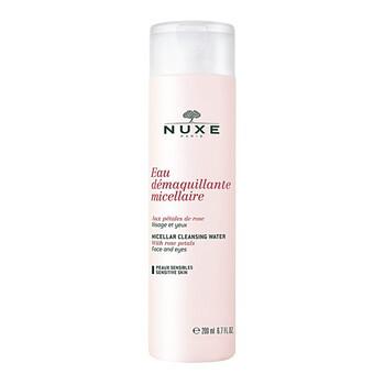 Nuxe Eau Demaquillante, woda micelarna do demakijażu z płatkami róży, 200 ml