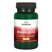 Swanson Resweratrol, 250 mg, kapsułki, 30 szt.