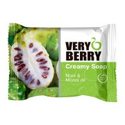 Very Berry, kremowe mydło w kostce, Noni & Monoi oil, 100 g