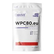OstroVit WPC80.eu ECONOMY, smak truskawkowy, proszek, 700 g