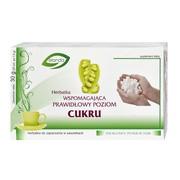 Herbatka wspomagająca utrzymanie prawidłowego poziomu cukru, fix, 1,5 g, 20 szt.