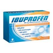 Ibuprofen, 200 mg, tabletki drażowane, 10 szt.