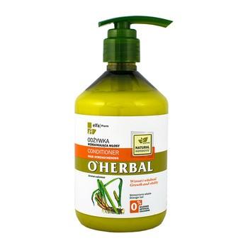O`Herbal, odżywka wzmacniająca włosy, ekstrakt z korzenia tataraku, 500 ml