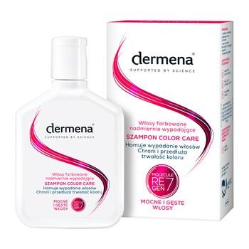 Dermena Hair Care, Color Care, szampon przeciw wypadaniu, włosy zniszczone farbowaniem, 200 ml