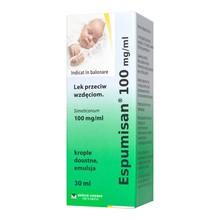 Espumisan, 100 mg/ml, krople doustne, 30 ml (import równoległy, Pharmapoint)