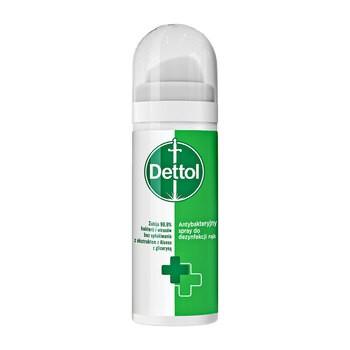 Dettol antybakteryjny spray do dezynfekcji rąk, 50 ml